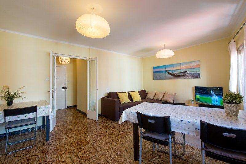 Hogareño piso para 6 huéspedes