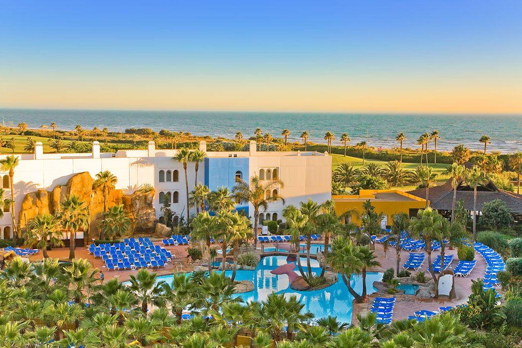 El Hotel de Playaballena desde las alturas
