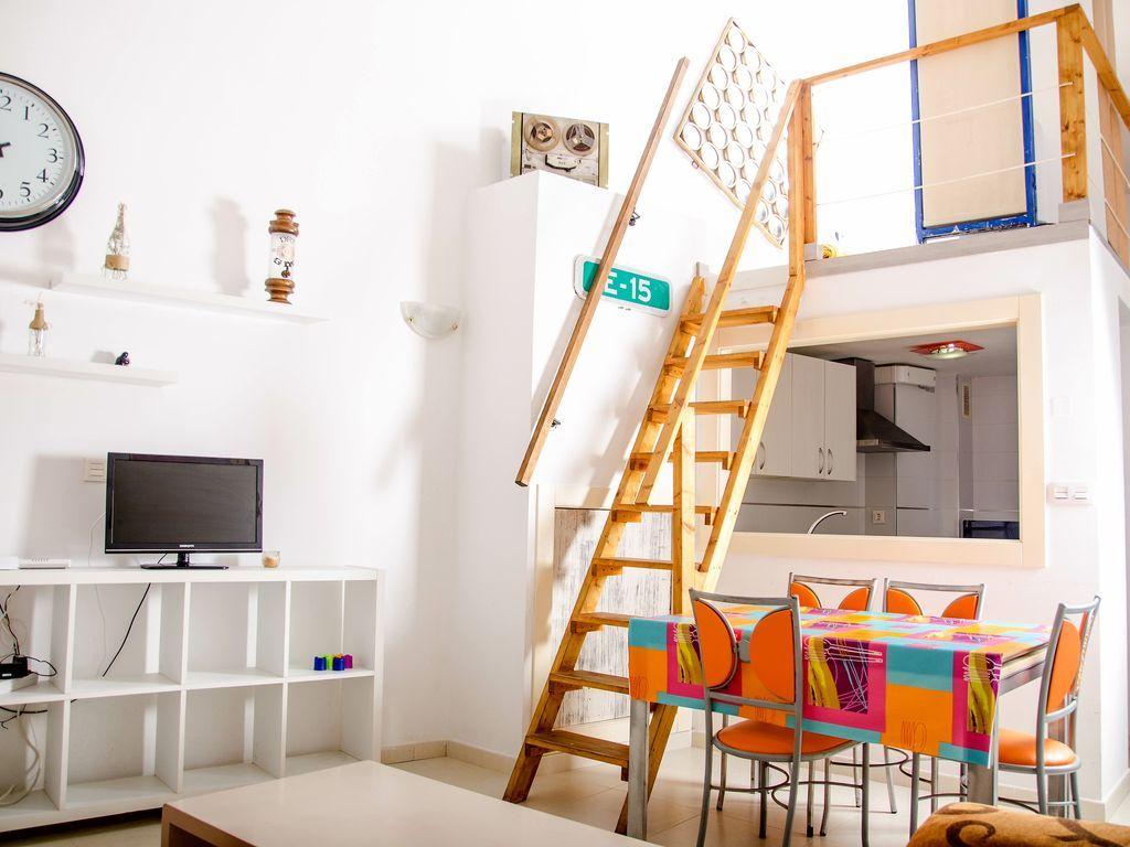 Apartamento en el centro para 4 personas en Cartagena