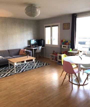 New Apart Cozy 40m² Centre Lille 4-6 Personnes