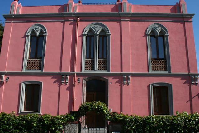 The Pink Palace - Appartamento Il Tramonto, 100 metri da una spiaggia di sabbia