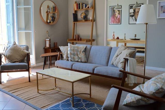 Residencia de 85 m² de 2 habitaciones