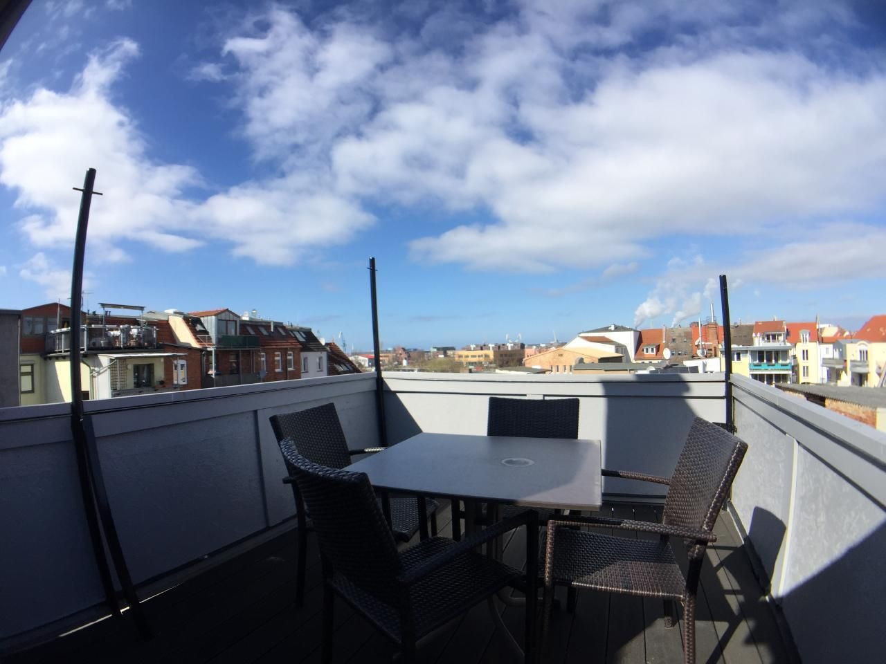 Casa en Wismar con balcón