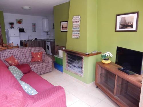 Casa de 1 habitación en Valdelarco