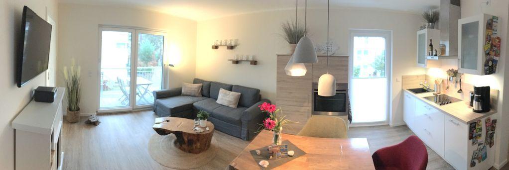 Ferienwohnung mit 2 Zimmern in Heringsdorf