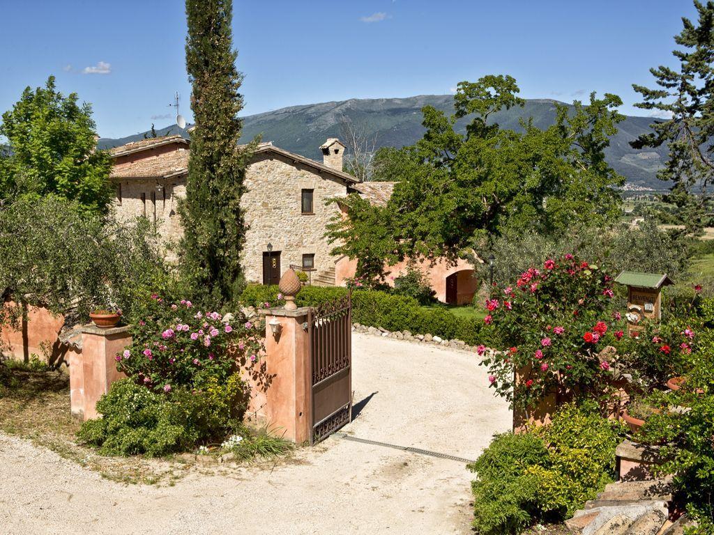 Residencia de 2 habitaciones en Castel ritaldi, perugia