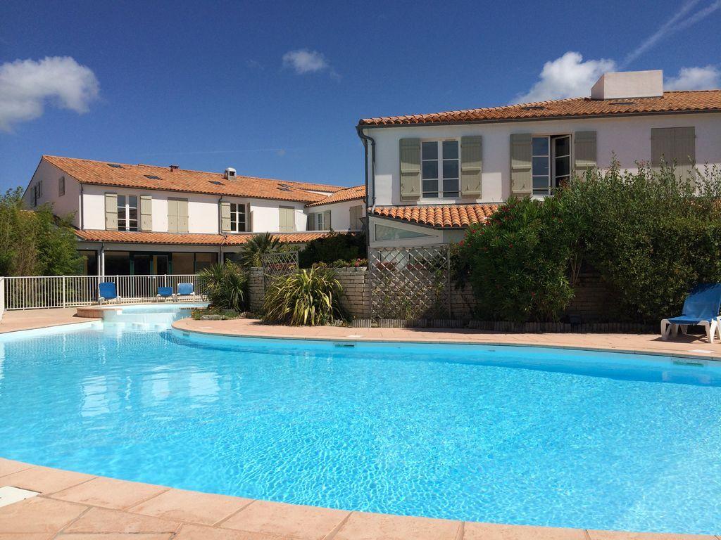 Apartamento en La couarde-sur-mer para 6 huéspedes