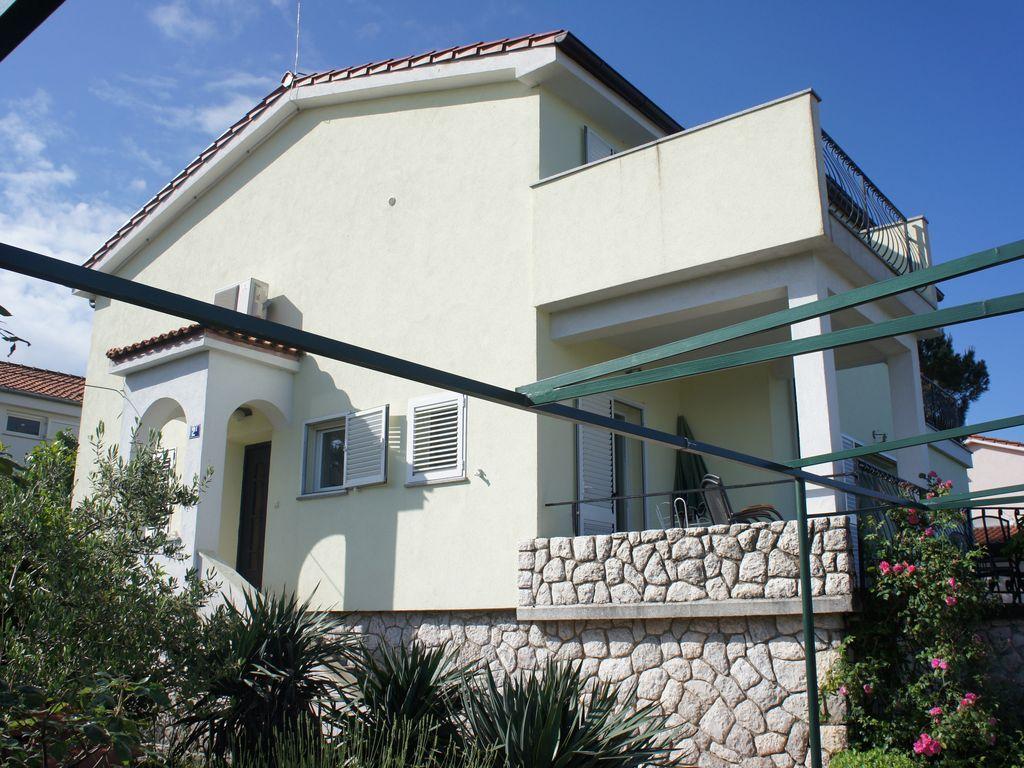 Acogedora residencia en Malinska