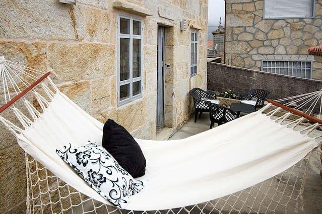 Alojamiento de 3 habitaciones en Lariño