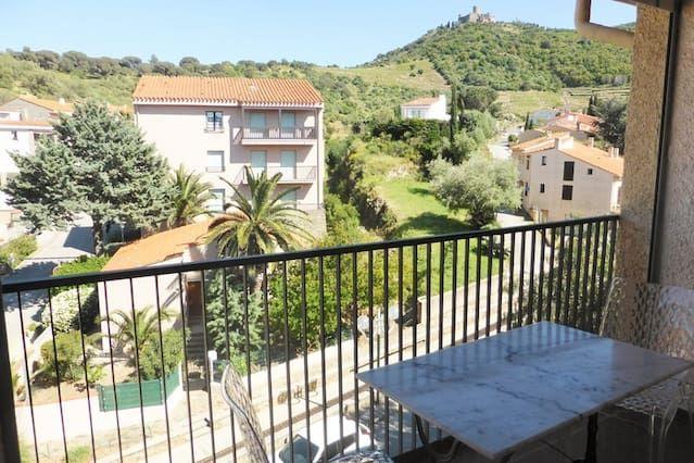 Hébergement avec 1 chambre à Collioure