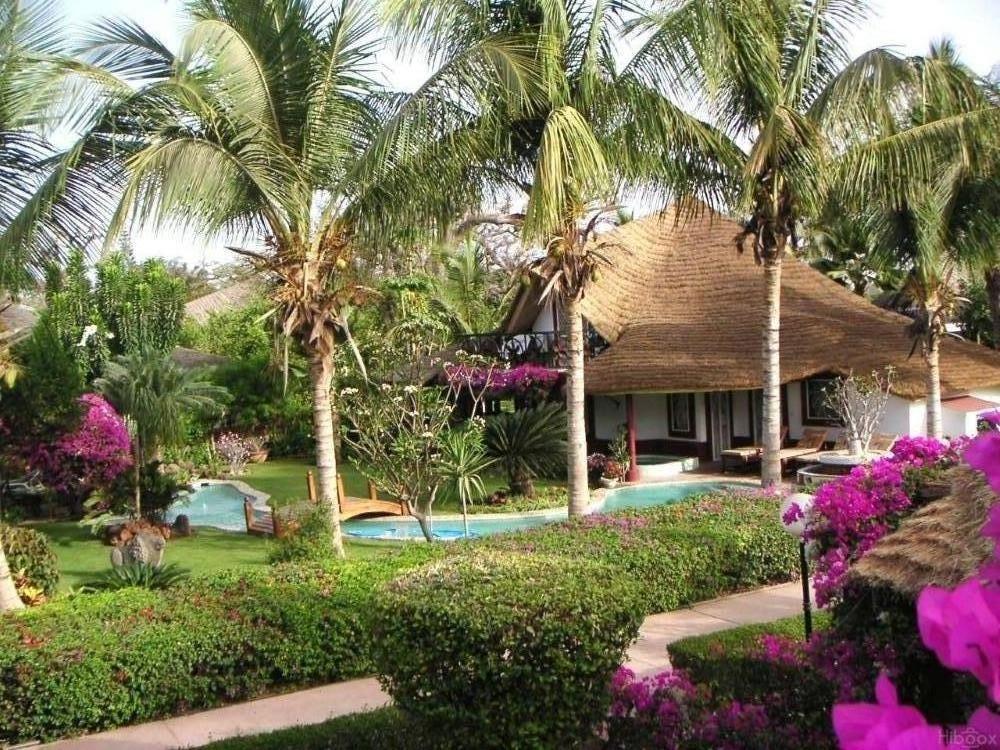 Alojamiento con jardín en Saly portudal