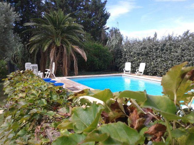 Residencia con jardín de 190 m²