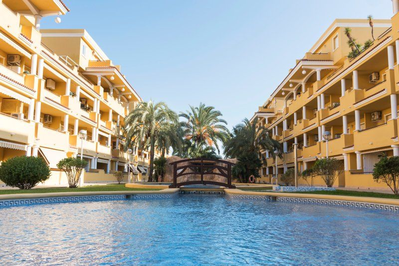 Ferienwohnung mit 2 Zimmern und Balkon