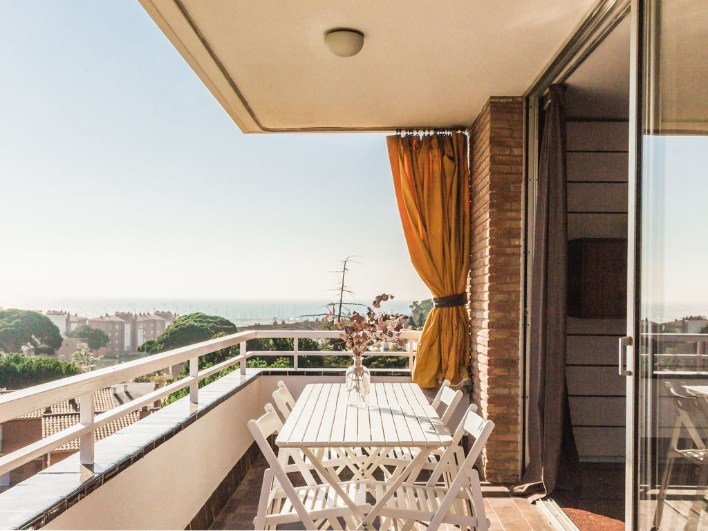 Alojamiento con jardín en Sant vicenç de montalt