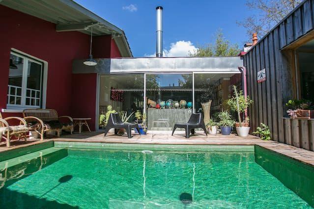 Casa del Arquitecto carácter - loft de diseño caliente - Piscina