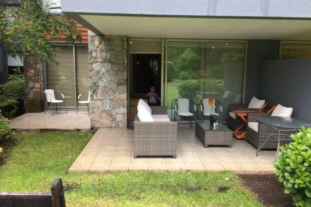 Apartamento con jardín en Pucón