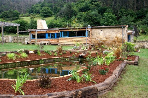 Ausgestattete Ferienwohnung mit Garten