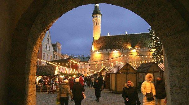 Mercado de Navidad Tallin
