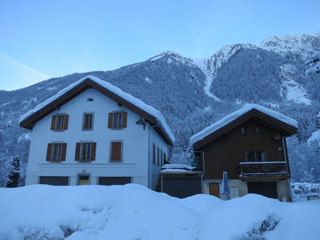Piso maravilloso en Chamonix
