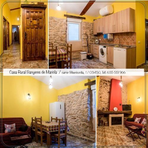 Ferienwohnung mit 1 Zimmer in Bañeres de mariola