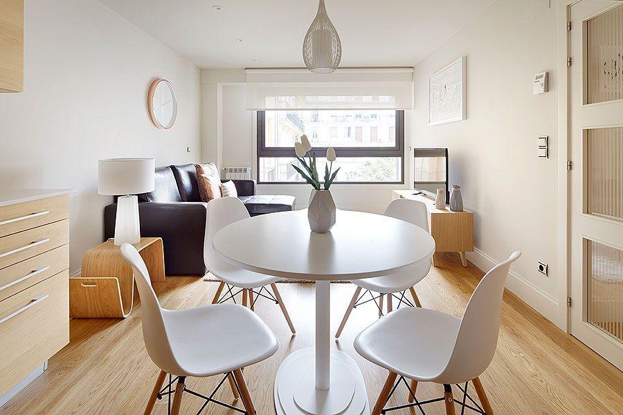 Apartamento equipado de 45 m²