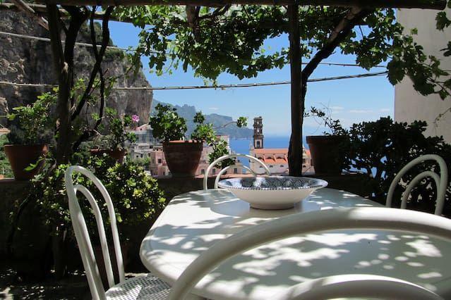 Lovely House - Atrani (Costa Amalfitana) hasta 4 personas - Jardín privado
