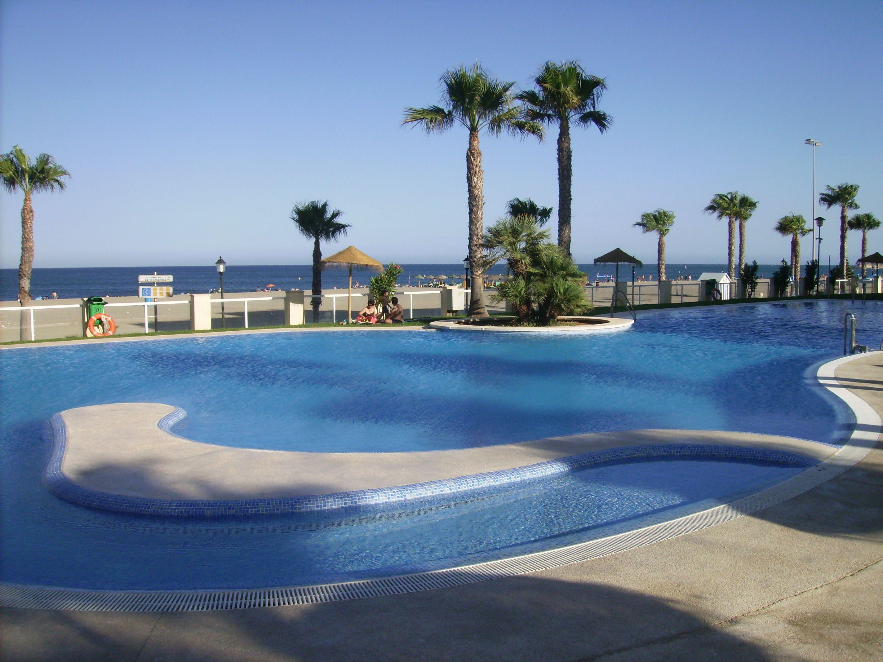 Ferienwohnung am Strand in Roquetas