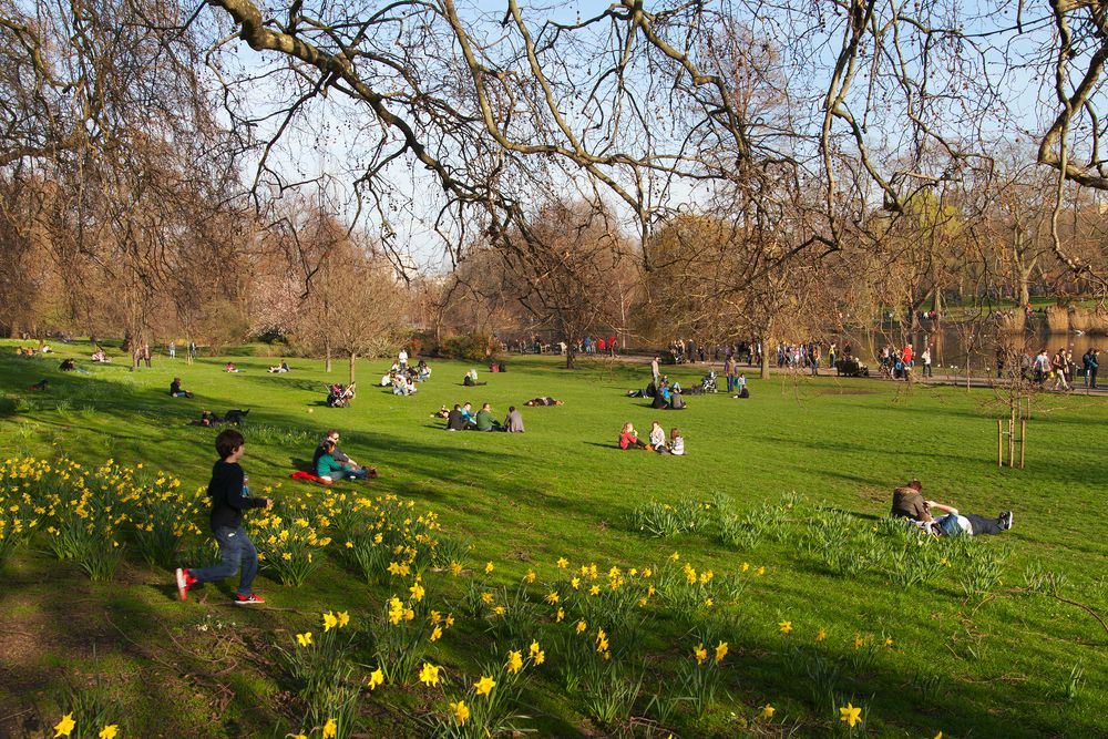 Parques Londres con niños