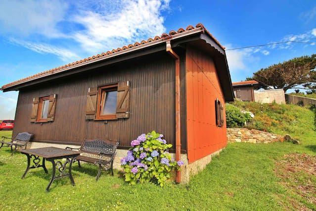 Casa con jardín para 5 huéspedes