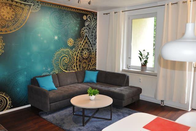 Ferienunterkunft in Halle an der saale mit 1 Zimmer