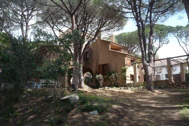 casa de invitados de una finca situada en Cabrera