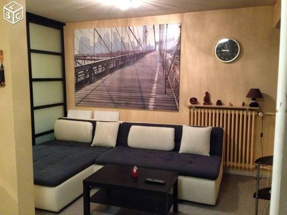 Logement équipé avec 1 chambre