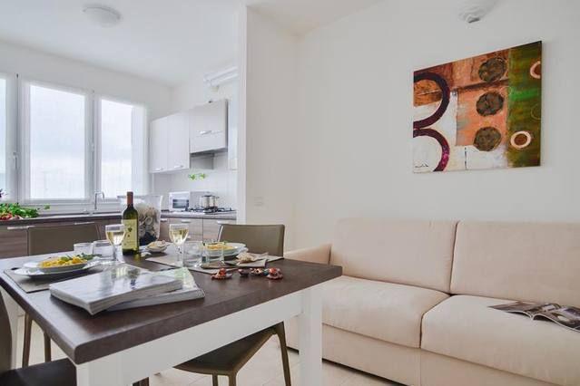 Práctico alojamiento de 2 habitaciones