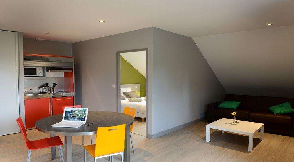 Interesante vivienda de 2 habitaciones