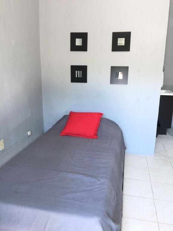Piso equipado de 35 m²