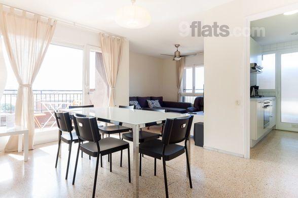 Dotada vivienda de 110 m²