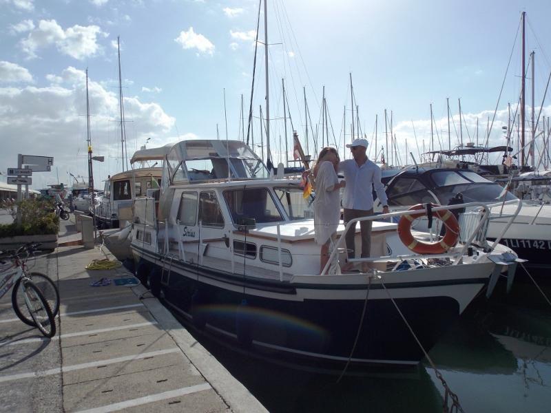Suite accomodation on boat Tuscany