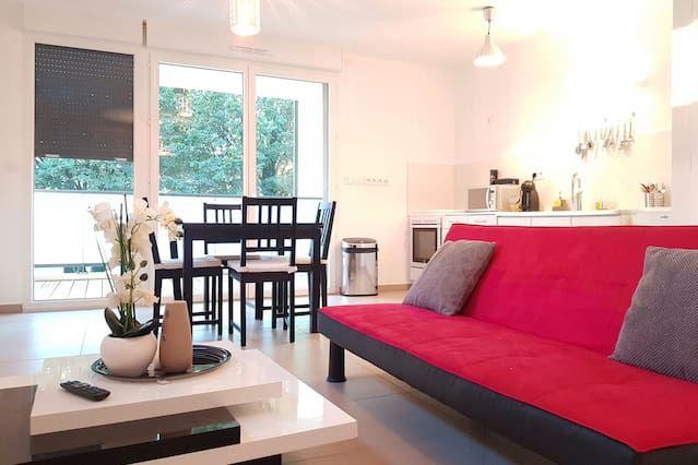 Hébergement avec 1 chambre à Bourg-en-bresse
