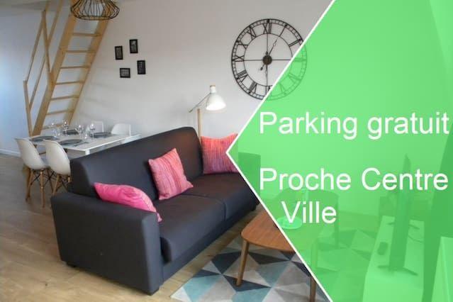 Alojamiento en Lille con wi-fi