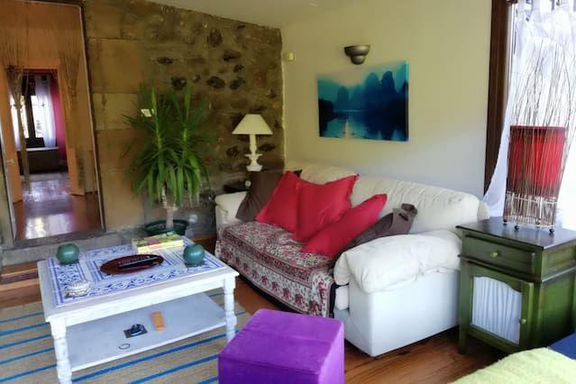 Alojamiento de 3 habitaciones en Trucios-turtzioz