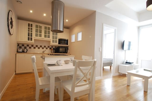 Flat for 4 guests with parking included