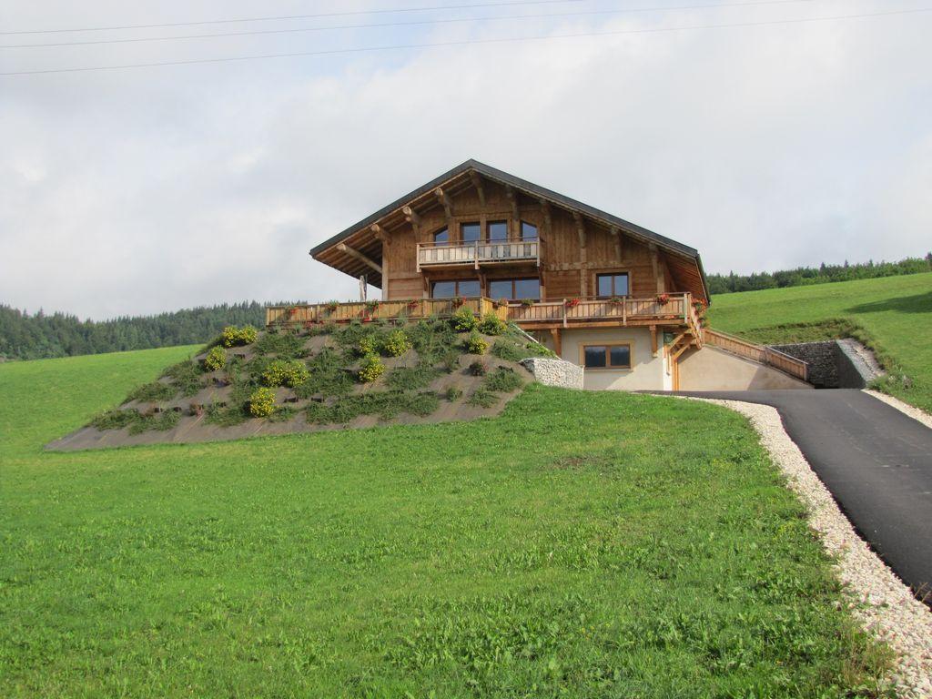 Residencia de 4 habitaciones en Foncine-le-haut