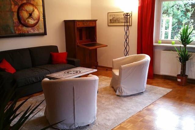 Quiet apartment close to Munich