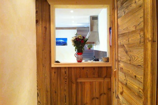 Chamonix preciosa de 2 piezas piso moderno