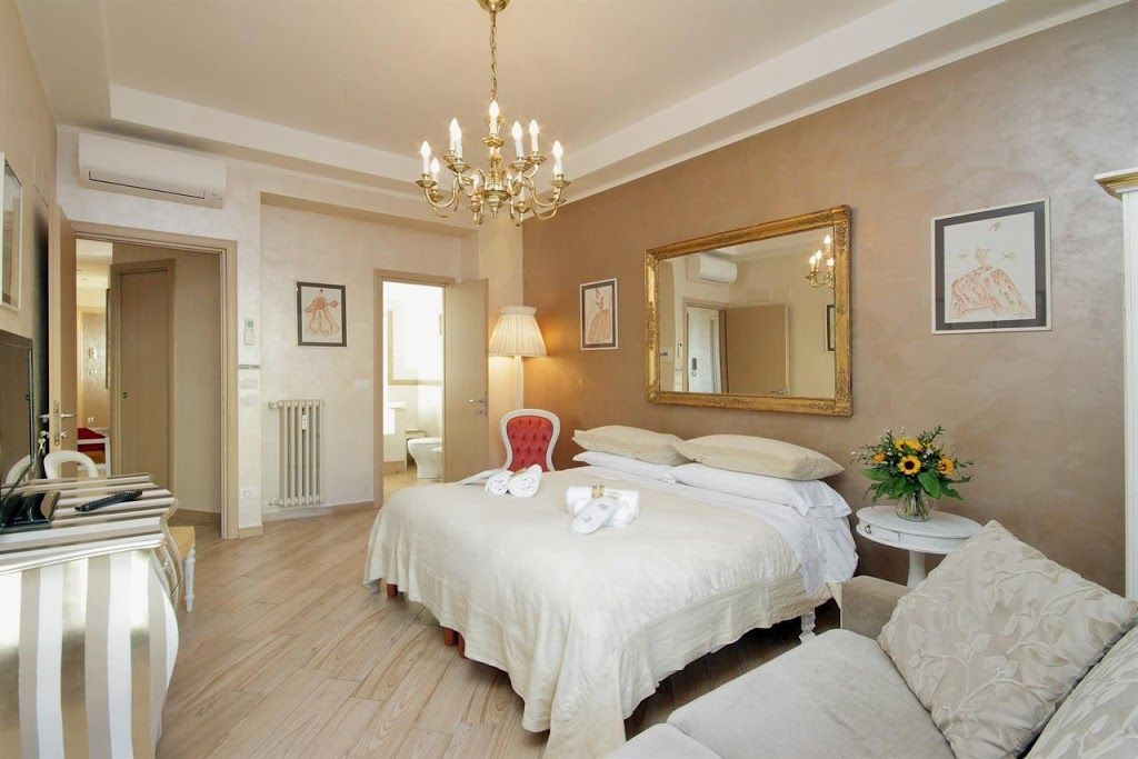 Hébergement avec 2 chambres à Roma