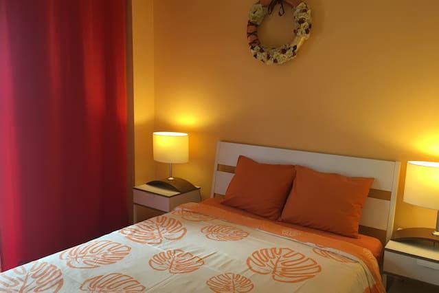 Wohnung für 6 Gäste mit 1 Zimmer