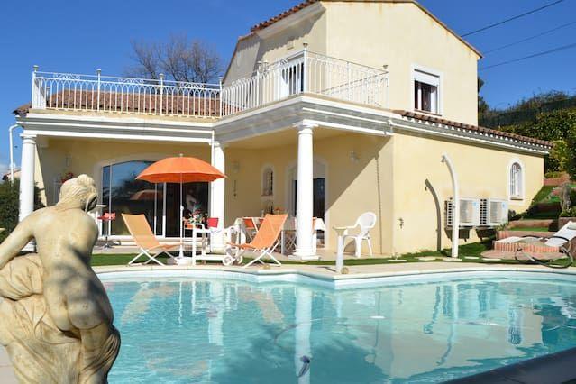 Casa en Niza para 7 huéspedes