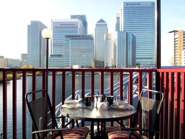 Canary Wharf London Docklands 2 bed harbour view
