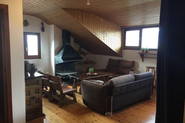 Top-floor Apartment / Attic & pool