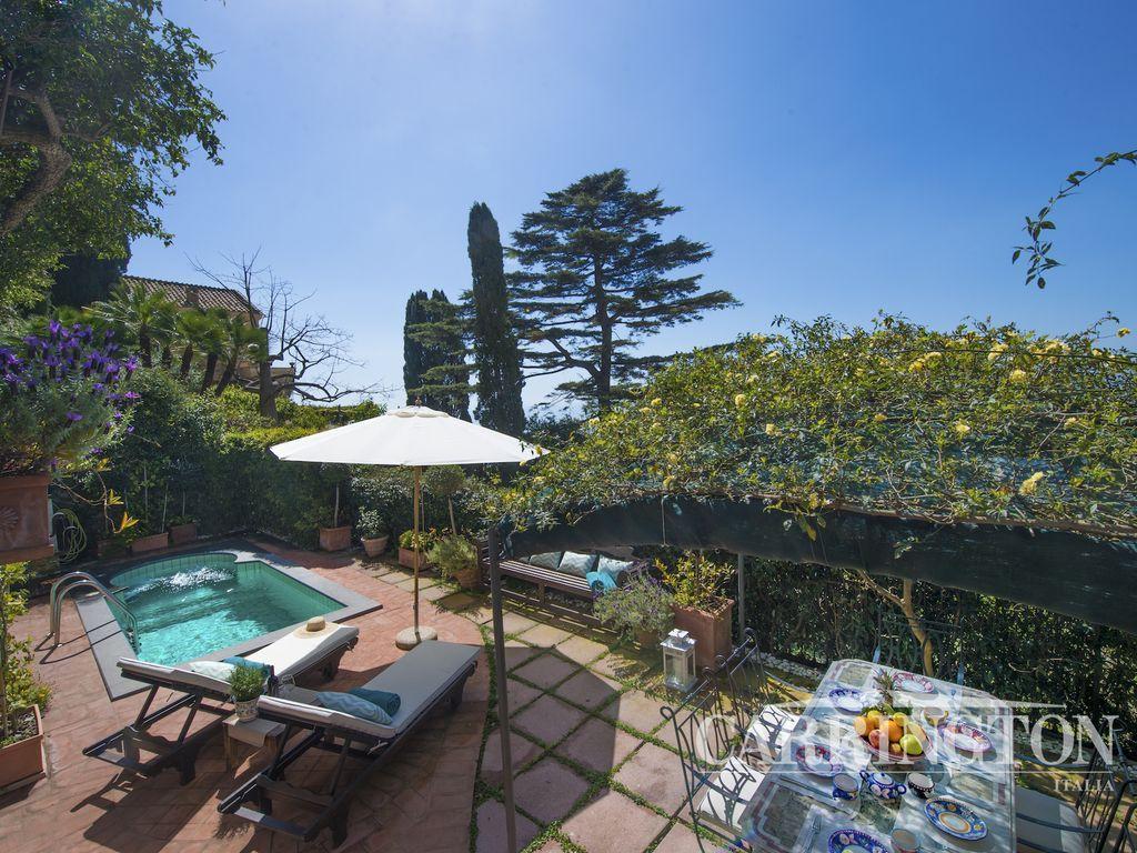 Residencia con vistas en Positano